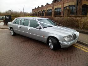 Mercedes Limousine Wedding Car Hire Blackpool From 163 175