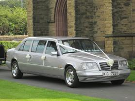 Mercedes Limousine wedding car hire