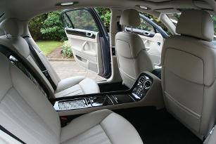interior of the flying spur