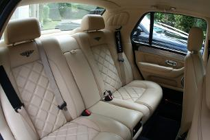 interior of our Bentley Arnage T