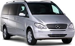 chauffeur driven mercedes vito