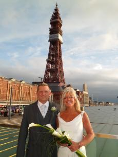 Happy Couple at Festival House Blackpool