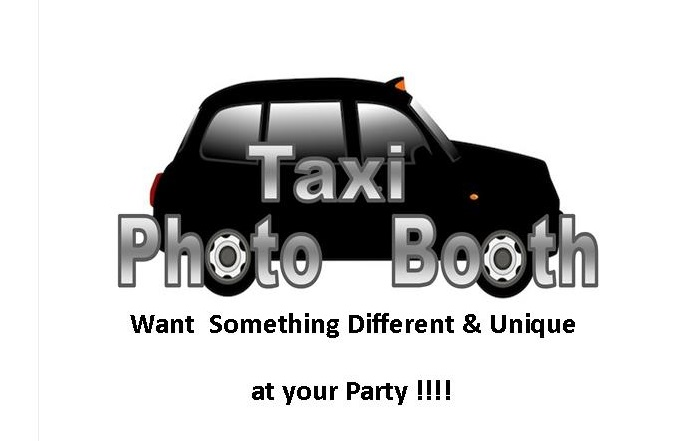 Photo booth with a difference our London taxi cab photobooth
